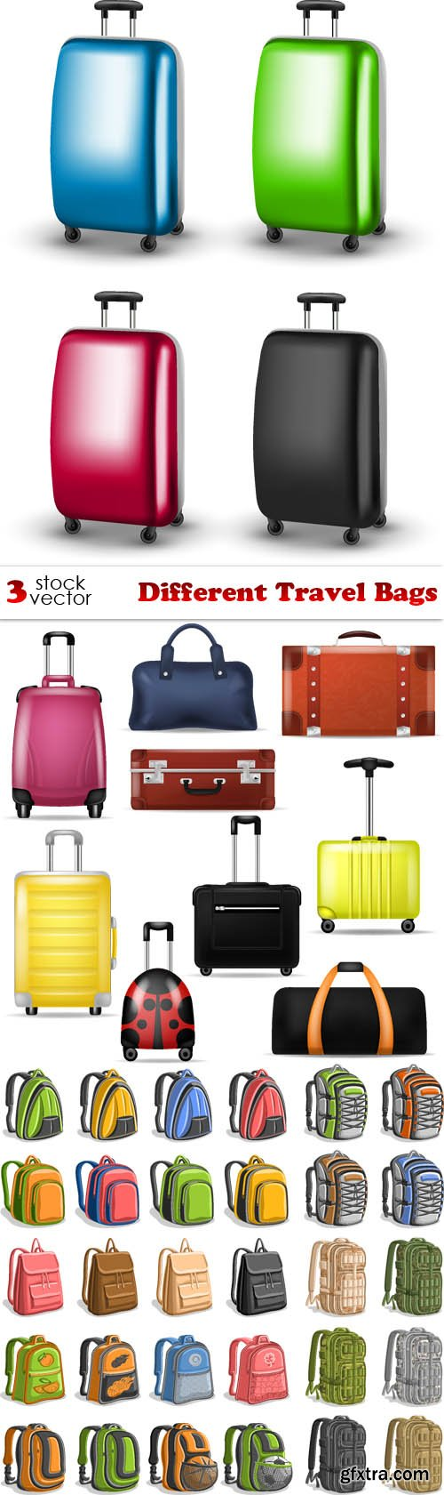 Vectors - Different Travel Bags