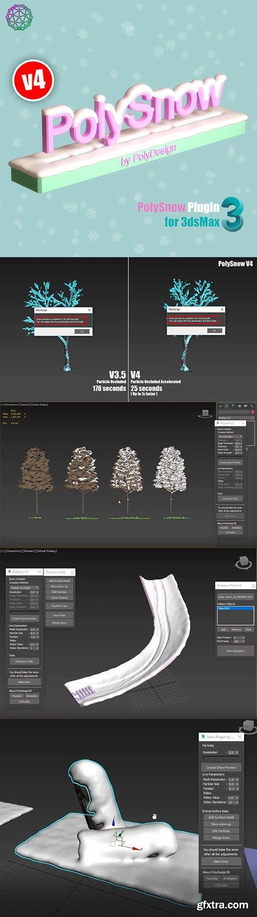 Cgtrader - PolySnow V4 for 3dsmax 3D model