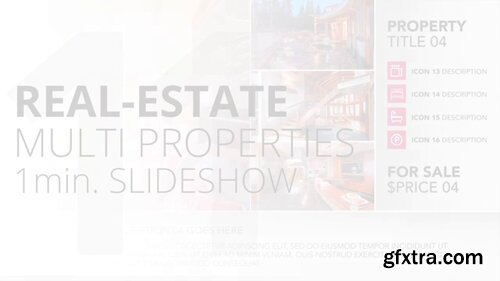 Pond5 - Real-Estate Multi Properties 1Min Slideshow 11 - After Effects Template -  091248089