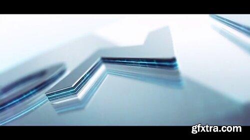 Pond5 - 3D Metall Logo Extrude Pond5 - 091720526