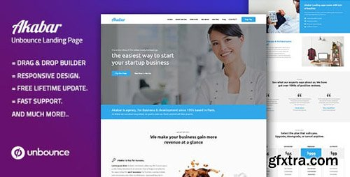 ThemeForest - Akabar - Multi-purpose Unbounce Landing Page (Update: 12 September 18) - 22539056
