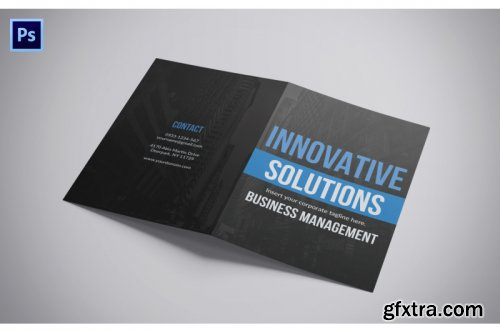 A4 Clean Brochure Design