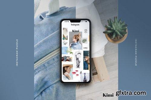 CreativeMarket - Kimi - instagram puzzle 3450295
