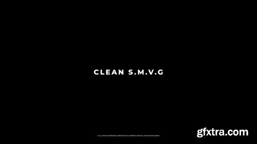 Clean Social Media Video Graphics 151541