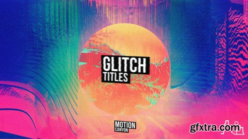 Glitch Titles & Lower Thirds 152496