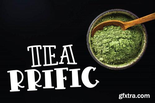 CreativeMarket - Tea Bundle - A Varie-Tea Font Pack 3479065