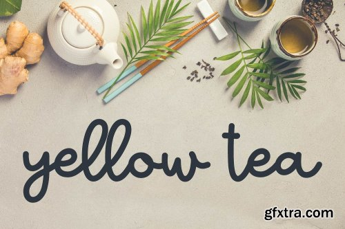 CreativeMarket - Tea Bundle - A Varie-Tea Font Pack 3479065