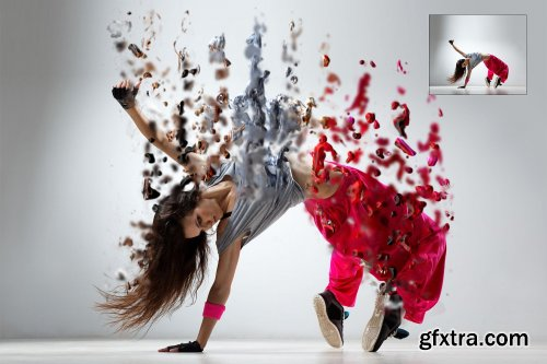 CreativeMarket - Liquify Photoshop Action 3472884