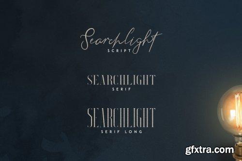 CreativeMarket - Searchlight - font trio 3495684