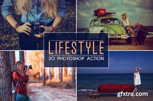 20 Lifestyle Photoshop Action