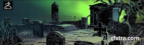 Catacomb In Zbrush Series Volume 1