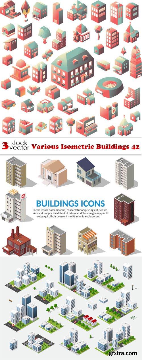 Vectors - Various Isometric Buildings 42