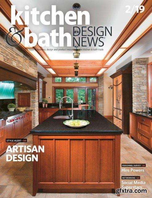 Kitchen & Bath Design News - February 2019