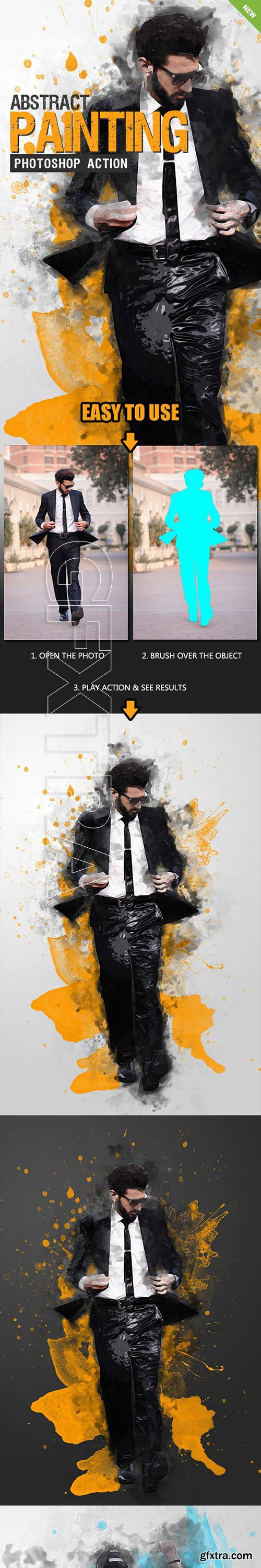 GraphicRiver - Abstract Painting Photoshop Action 23212791