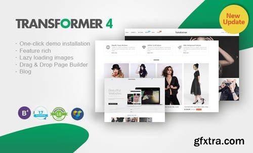 Transformer v4.3.2 - Premium Responsive PrestaShop Theme - NULLED