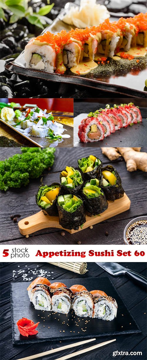 Photos - Appetizing Sushi Set 60