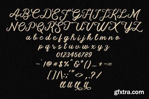 CM - Fallen Attena - Brush Font - 3504408
