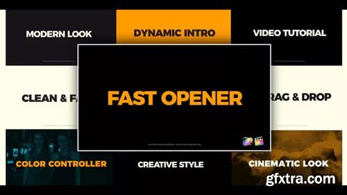 Videohive - Clean Fast Opener FCPX - 23292301