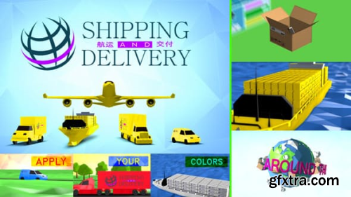 VideoHive Shipping, Transportation and Delivery 8688307