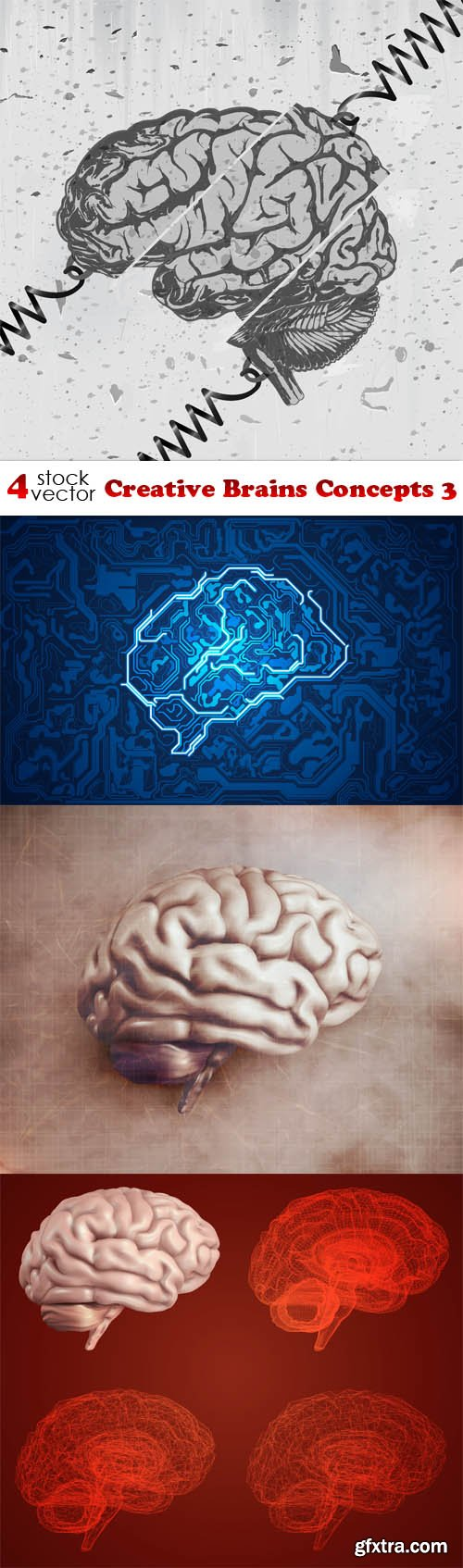 Vectors - Creative Brains Concepts 3