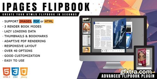 CodeCanyon - iPages Flipbook v1.3.4 - jQuery Plugin - 22445527