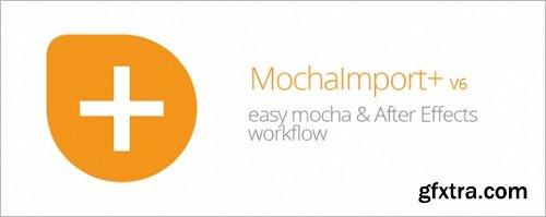MochaImport+ V6 for After Effects