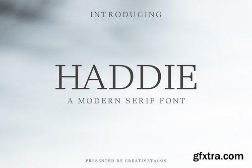CM - Haddie Modern Serif Font Family 354319