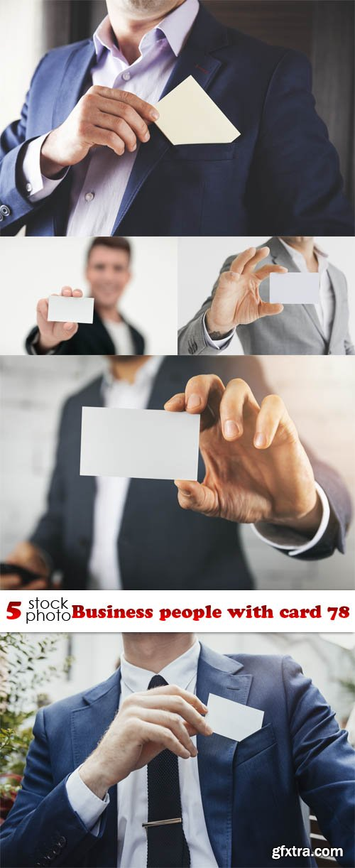 Photos - Business people with card 78