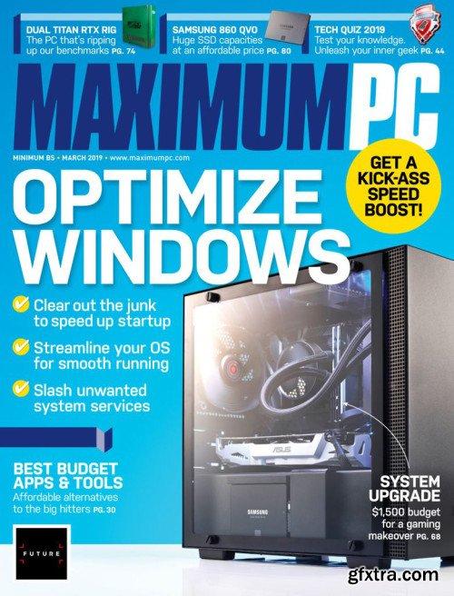 Maximum PC - March 2019