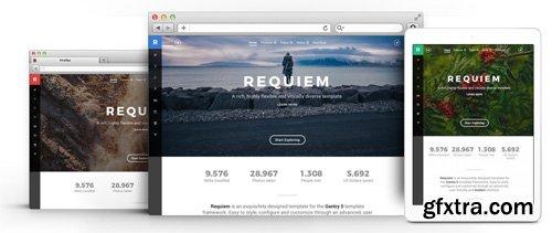 RocketTheme - Requiem v1.3.1 - Joomla Theme