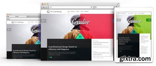 RocketTheme - Ethereal v1.3.5 - Joomla Theme