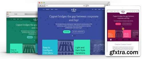 RocketTheme - Cygnet v1.6 - Joomla Theme