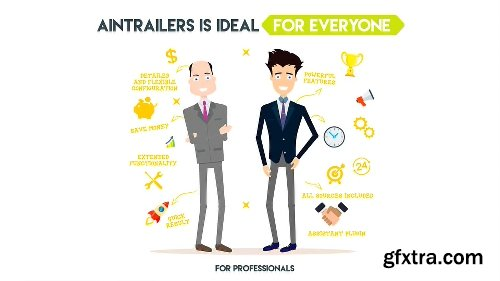 VideoHive AinTrailers | Explainer Video Toolkit with Character Animation Builder V2.2.3 18950108
