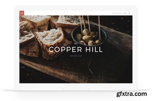 YooTheme - Copper Hill v1.18.14 - Joomla Theme