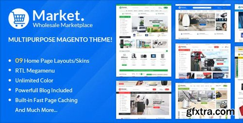 ThemeForest - ALO Market - Responsive Magento 2 Theme ( RTL supported ) (Update: 16 February 19) - 22997928