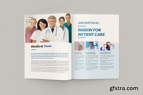Medicore - A4 Medical Brochure Template » GFxtra