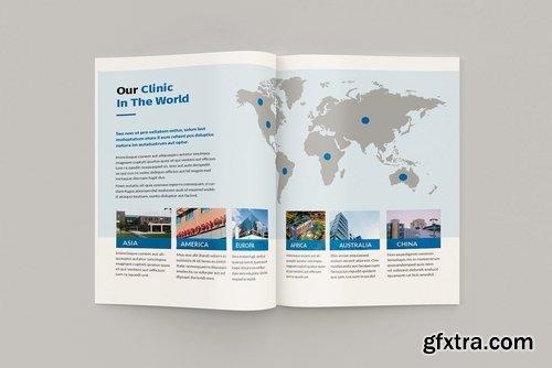 Medicore - A4 Medical Brochure Template » GFxtra