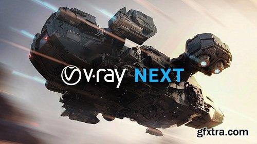 V-Ray Next v4.04.03 for Maya 2015 - 2018