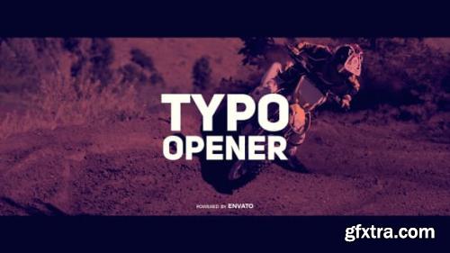 VideoHive Dynamic Typo Opener 19479734