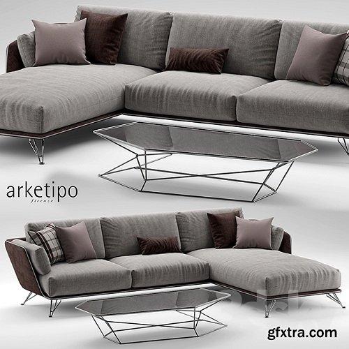 Arketipo Morrison Sofa 2
