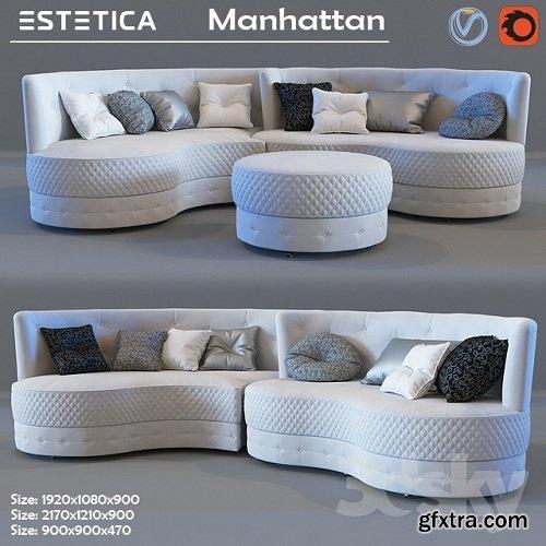 Estetica Manhattan Sofa