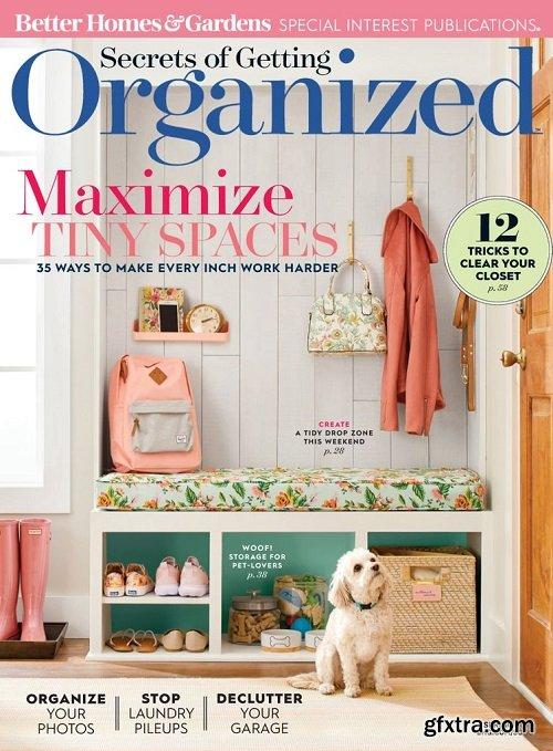 Secrets of Getting Organized – March 2019