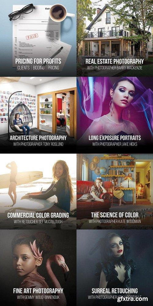 RGGEDU All Photography Tutorials Bundle