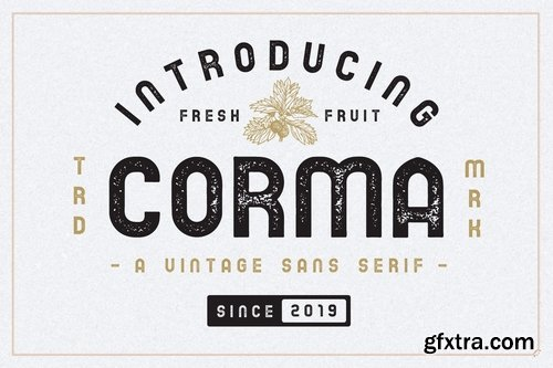 CM - The Corma - 4 Font Files 3566354