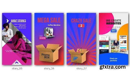 Videohive Instagram Stories Kit // Instagram Story Pack V5 22195723