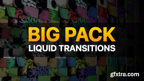 Videohive Liquid Transitions Big Pack 23309842