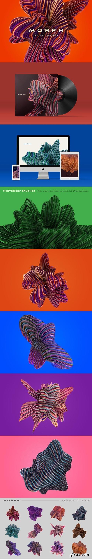 ChromaSupply - Morph: Bursting 3D Shapes