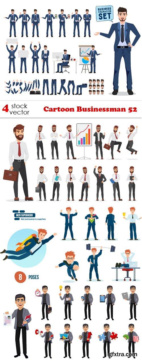 Vectors - Cartoon Businessman 52