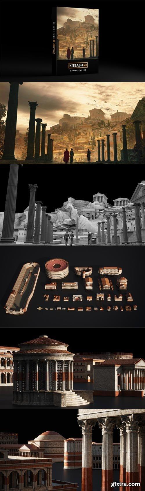 Kitbash3D - ROMAN EMPIRE $200