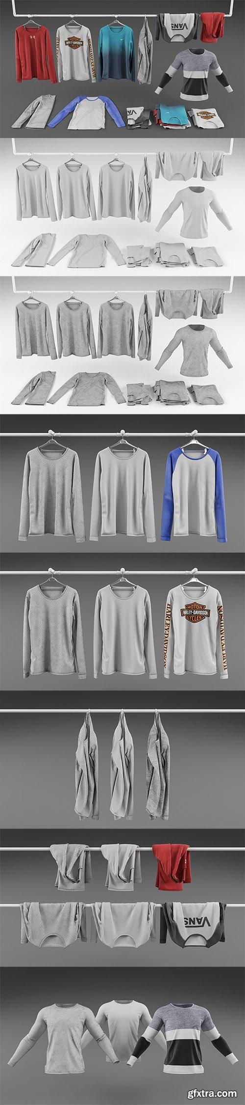 Cgrader - Long sleeve shirt collection
